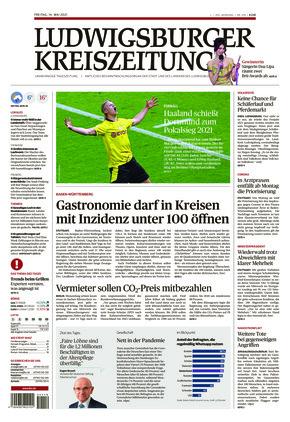 Ludwigsburger Kreiszeitung STR (14.05.2021)