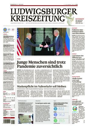 Ludwigsburger Kreiszeitung LKZ (17.06.2021)