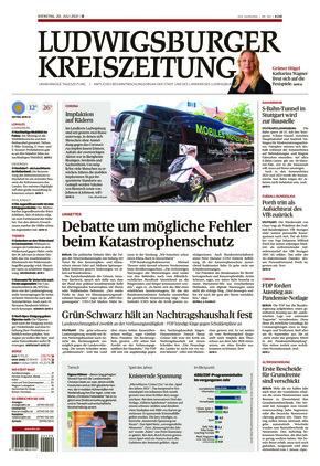 Ludwigsburger Kreiszeitung BOT (20.07.2021)