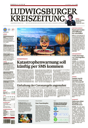 Ludwigsburger Kreiszeitung BOT (22.07.2021)