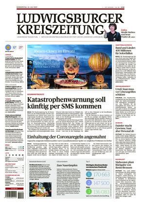 Ludwigsburger Kreiszeitung LKZ (22.07.2021)