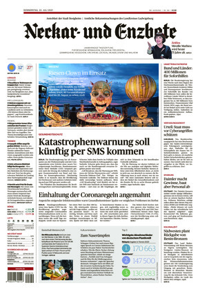 Ludwigsburger Kreiszeitung NEB (22.07.2021)