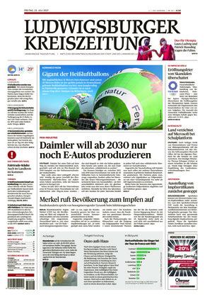 Ludwigsburger Kreiszeitung LKZ (23.07.2021)