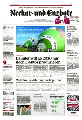Ludwigsburger Kreiszeitung NEB (23.07.2021)