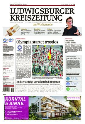 Ludwigsburger Kreiszeitung BOT (24.07.2021)