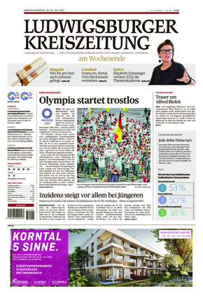 Ludwigsburger Kreiszeitung STR (24.07.2021)