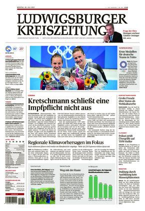 Ludwigsburger Kreiszeitung BOT (26.07.2021)