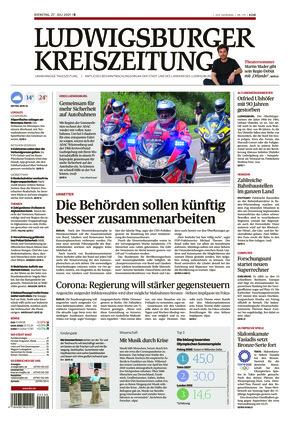 Ludwigsburger Kreiszeitung BOT (27.07.2021)