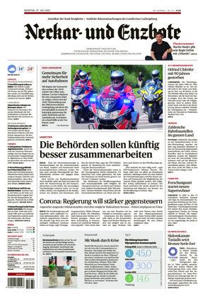Ludwigsburger Kreiszeitung NEB (27.07.2021)