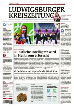 Ludwigsburger Kreiszeitung LKZ (28.07.2021)