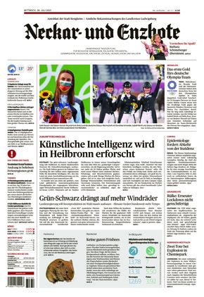 Ludwigsburger Kreiszeitung NEB (28.07.2021)