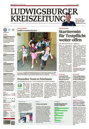 Ludwigsburger Kreiszeitung BOT (29.07.2021)