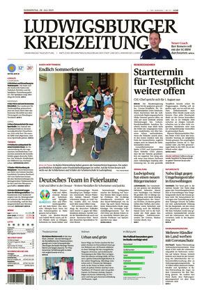 Ludwigsburger Kreiszeitung LKZ (29.07.2021)