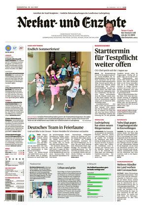Ludwigsburger Kreiszeitung NEB (29.07.2021)