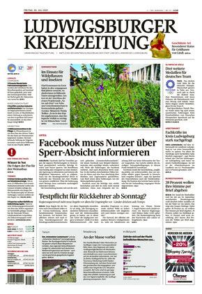 Ludwigsburger Kreiszeitung LKZ (30.07.2021)