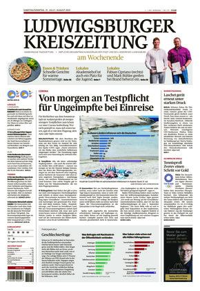 Ludwigsburger Kreiszeitung LKZ (31.07.2021)