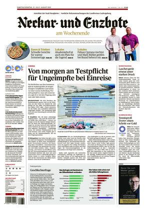 Ludwigsburger Kreiszeitung NEB (31.07.2021)