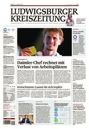 Ludwigsburger Kreiszeitung LKZ (02.08.2021)