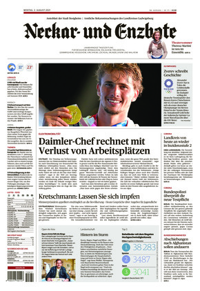 Ludwigsburger Kreiszeitung NEB (02.08.2021)