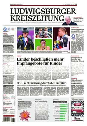 Ludwigsburger Kreiszeitung LKZ (03.08.2021)