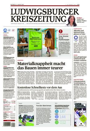 Ludwigsburger Kreiszeitung LKZ (04.08.2021)
