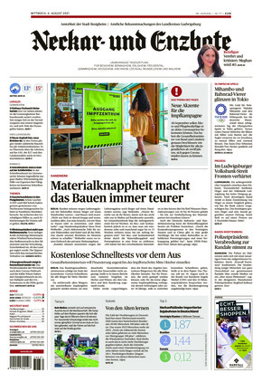 Ludwigsburger Kreiszeitung NEB (04.08.2021)