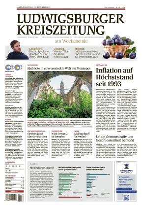 Ludwigsburger Kreiszeitung BOT (11.09.2021)