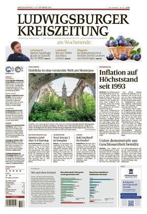 Ludwigsburger Kreiszeitung LKZ (11.09.2021)