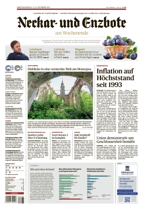Ludwigsburger Kreiszeitung NEB (11.09.2021)
