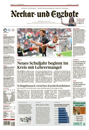 Ludwigsburger Kreiszeitung NEB (13.09.2021)