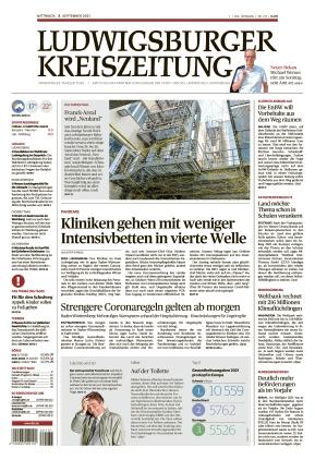 Ludwigsburger Kreiszeitung LKZ (15.09.2021)