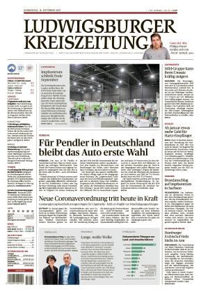 Ludwigsburger Kreiszeitung LKZ (16.09.2021)
