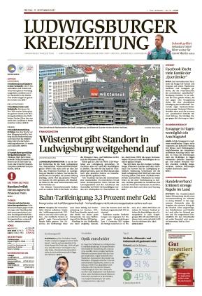 Ludwigsburger Kreiszeitung LKZ (17.09.2021)