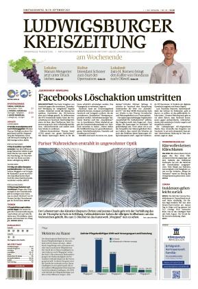 Ludwigsburger Kreiszeitung LKZ (18.09.2021)