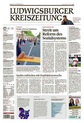 Ludwigsburger Kreiszeitung LKZ (20.09.2021)