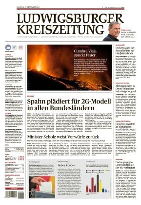 Ludwigsburger Kreiszeitung STR (21.09.2021)