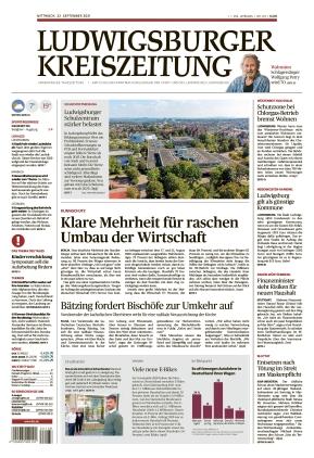 Ludwigsburger Kreiszeitung LKZ (22.09.2021)
