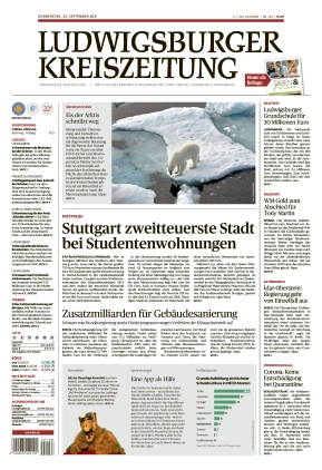 Ludwigsburger Kreiszeitung STR (23.09.2021)