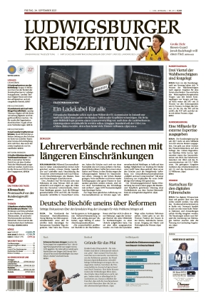Ludwigsburger Kreiszeitung BOT (24.09.2021)