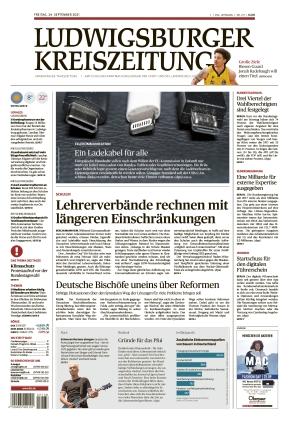 Ludwigsburger Kreiszeitung LKZ (24.09.2021)