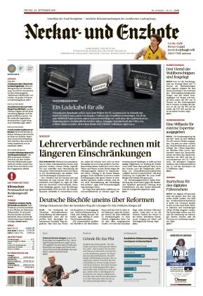 Ludwigsburger Kreiszeitung NEB (24.09.2021)