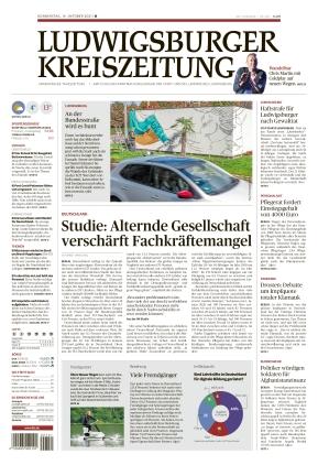 Ludwigsburger Kreiszeitung BOT (14.10.2021)