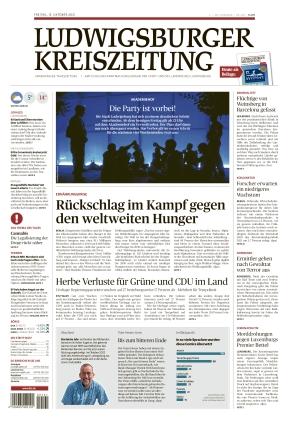Ludwigsburger Kreiszeitung LKZ (15.10.2021)
