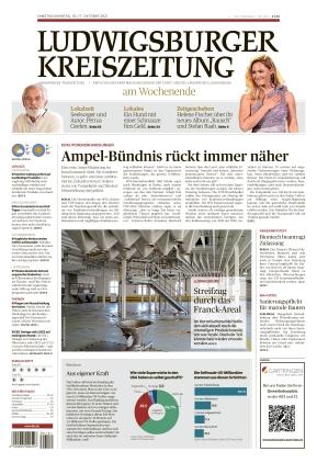 Ludwigsburger Kreiszeitung BOT (16.10.2021)