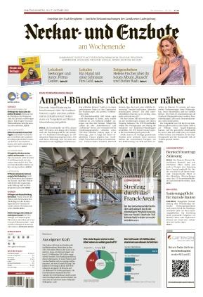 Ludwigsburger Kreiszeitung NEB (16.10.2021)
