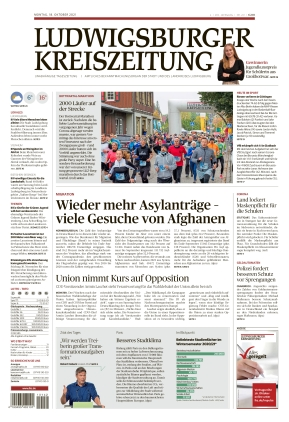 Ludwigsburger Kreiszeitung LKZ (18.10.2021)
