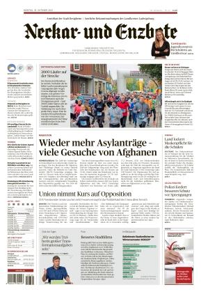 Ludwigsburger Kreiszeitung NEB (18.10.2021)