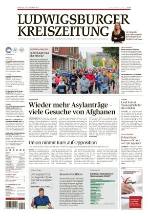 Ludwigsburger Kreiszeitung STR (18.10.2021)