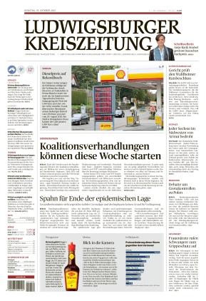 Ludwigsburger Kreiszeitung LKZ (19.10.2021)