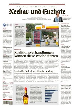 Ludwigsburger Kreiszeitung NEB (19.10.2021)